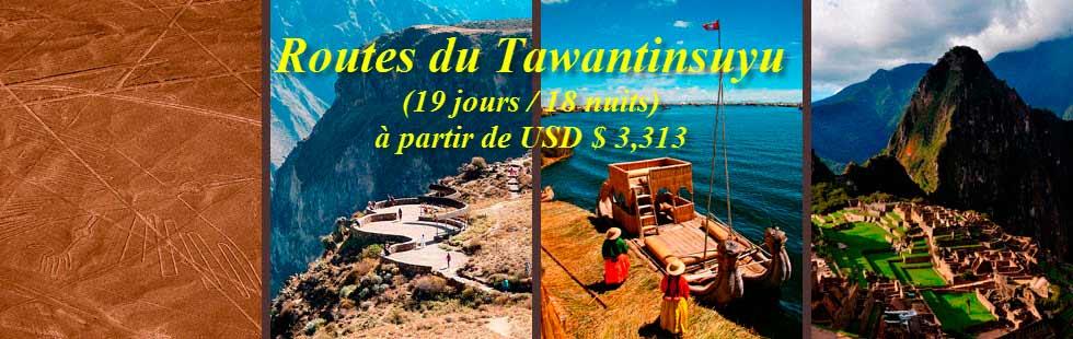 Routes du Tawantinsuyu