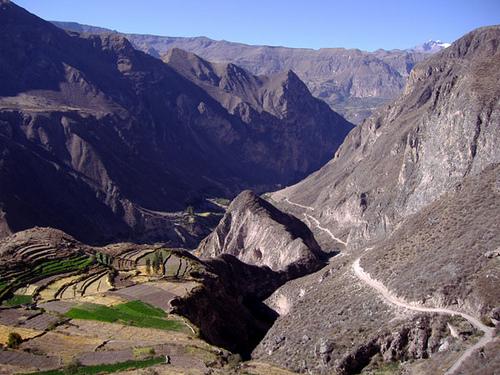 Cotahuasi canyon Arequipa Peru