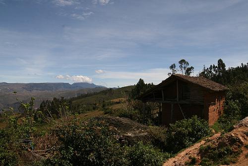 Village of Hunacas Chachapoyas Amazonas