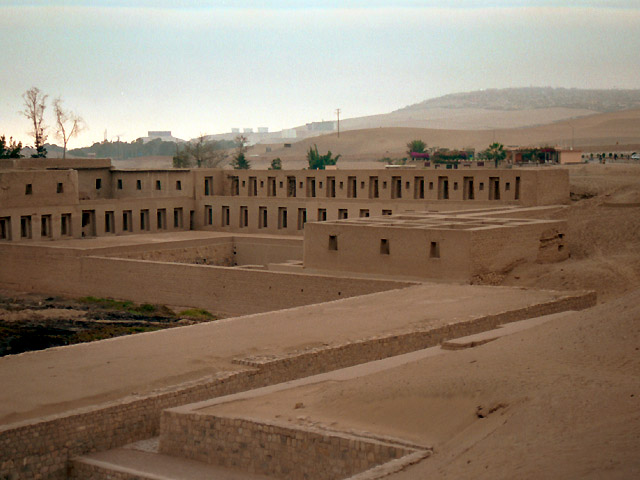 Pachacamac Archeological site Lima