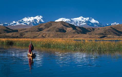 Titicaca Lake Puno Peru