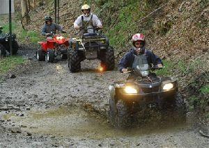 Aventure en Quadri Moto à Quillawata