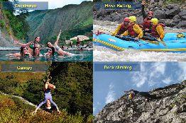 Cocalmayo / Escalade / Canopy / River Rafting
